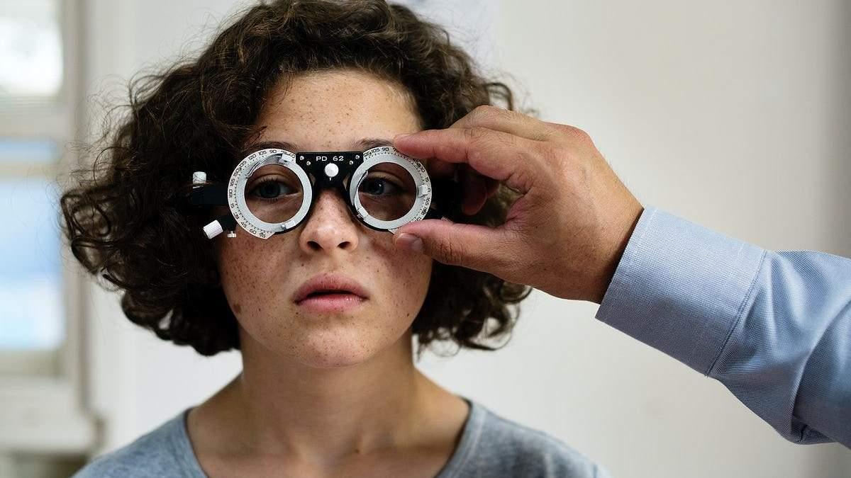 Вправи для відновлення гостроти зору
