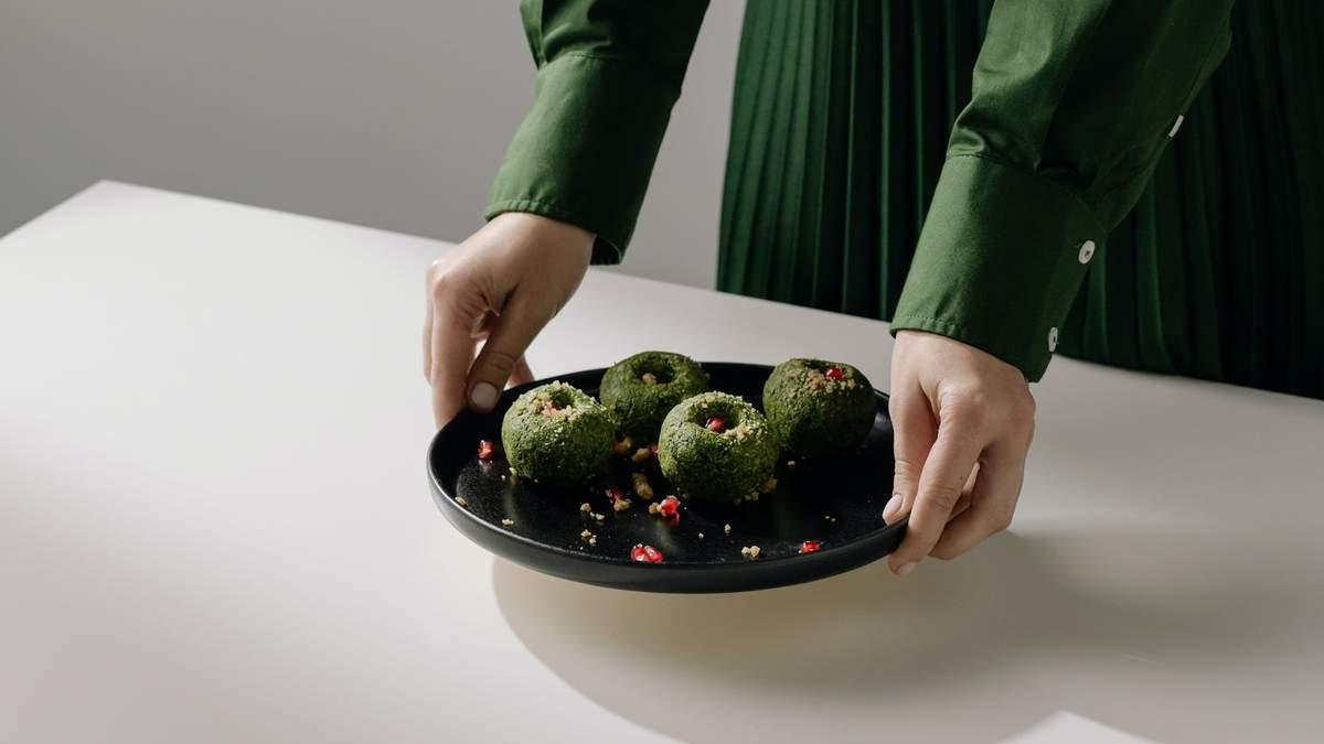 Кульки зі шпинату