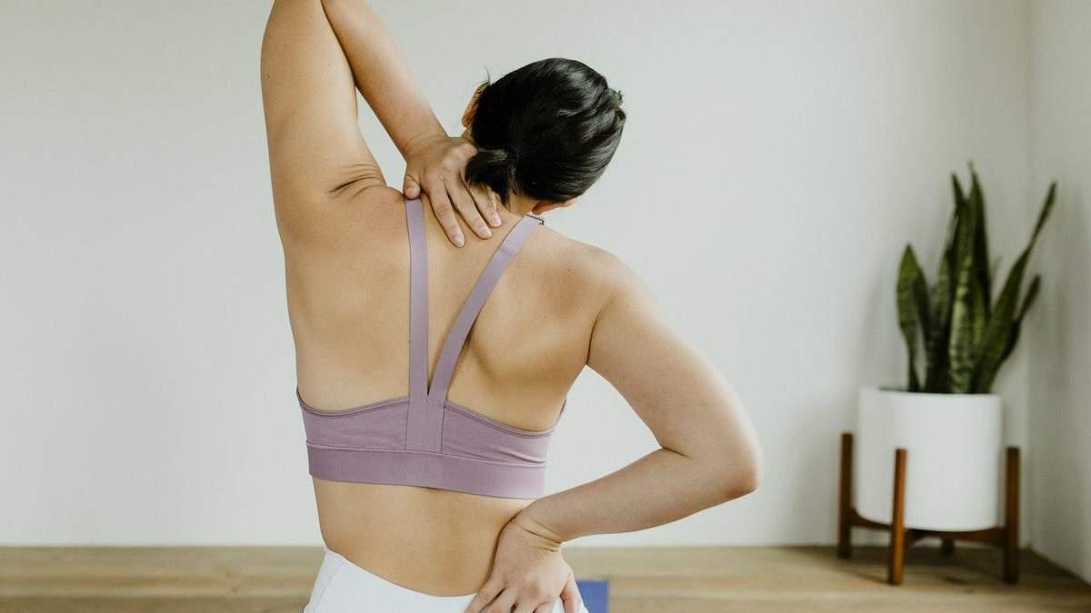 Остеохондроз: дієві вправи для профілактики захворювання