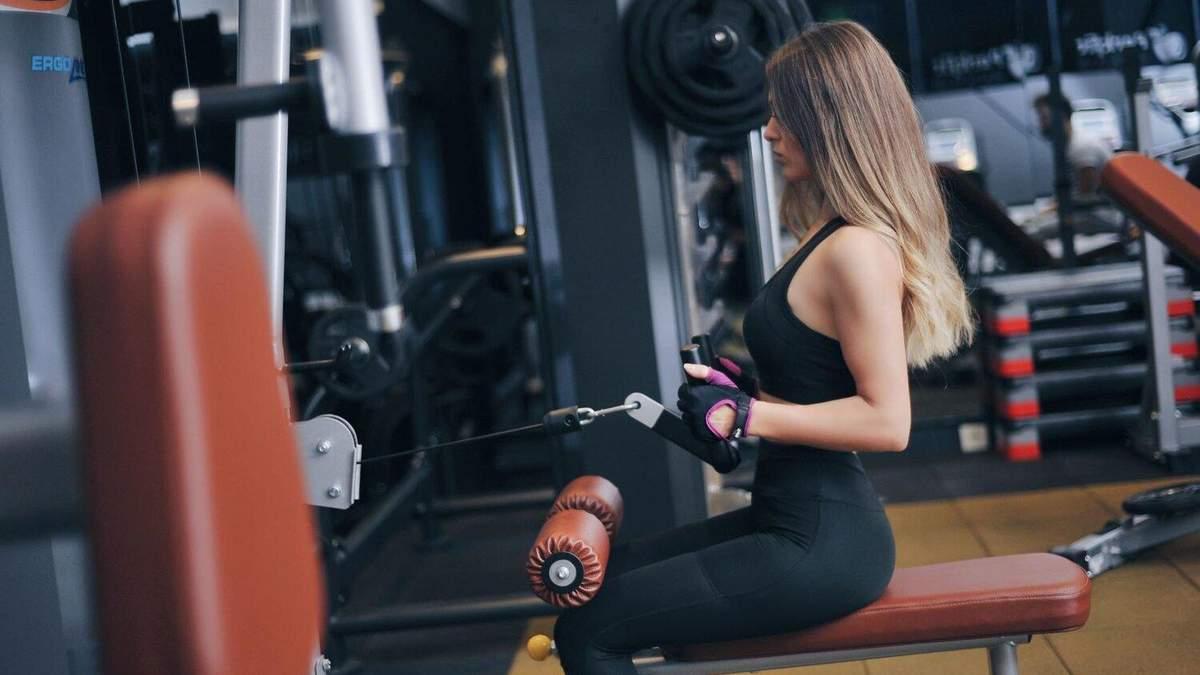 З яких м'язів починати тренування