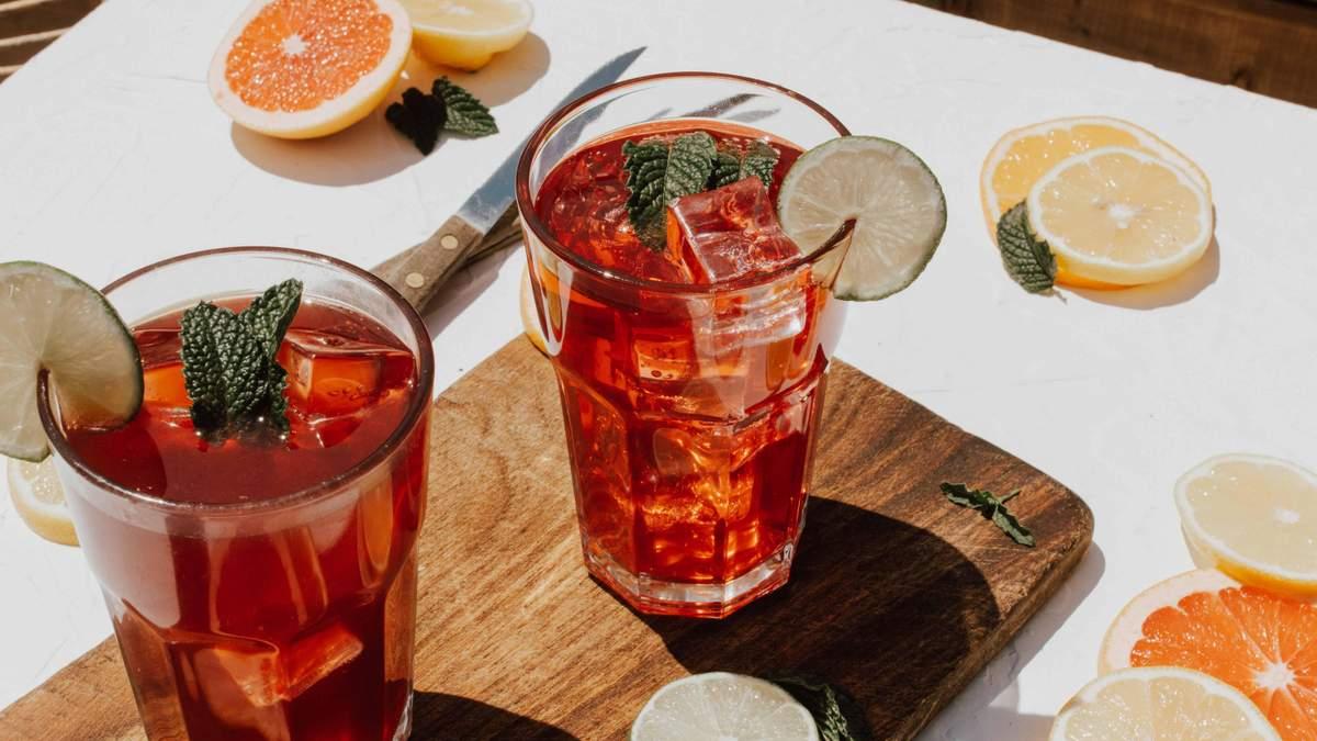 Рецепт летнего напитка