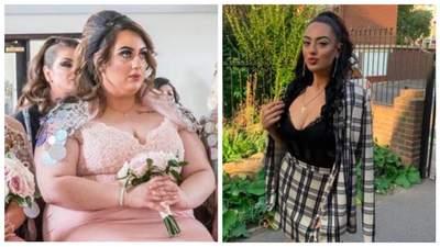 Подружка нареченої скинула 74 кілограми, коли побачила весільні фото: крута трансформація