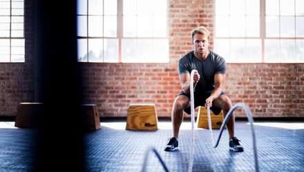 5 найкращих високоінтервальних вправ для чоловіків, які прокачують усе тіло