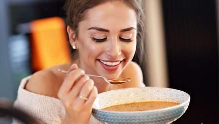 Що трапиться з організмом, якщо їсти лише супи