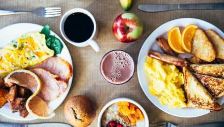 Здоровий сніданок: 7 продуктів, з яких не можна розпочинати свій день