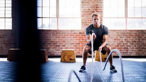 5 найкращих високоінтенсивних вправ для чоловіків, які прокачують усе тіло
