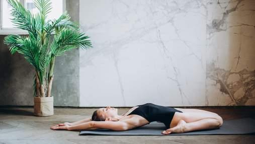 8 простих поз йоги для ідеальної фігури  – відео