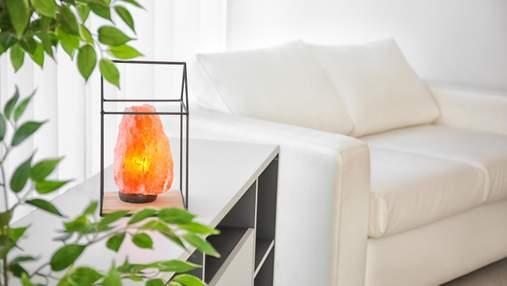 Міцний сон та оздоровлення: 5 причин  придбати сольову лампу
