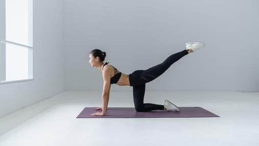 Особистий досвід: як щоденна планка допомогла позбутися болю в спині
