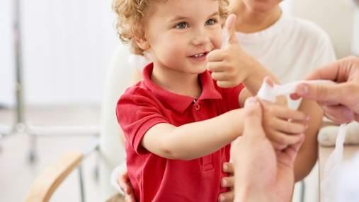Первая помощь при травмах у детей