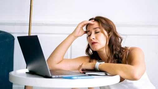 Синдром хронічної втоми у міжсезоння: симптоми та профілактика
