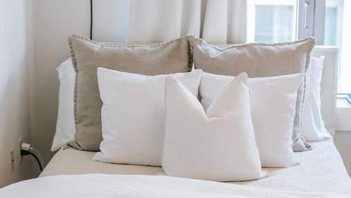 Тверда чи м'яка: який тип подушки обрати залежно від пози сну