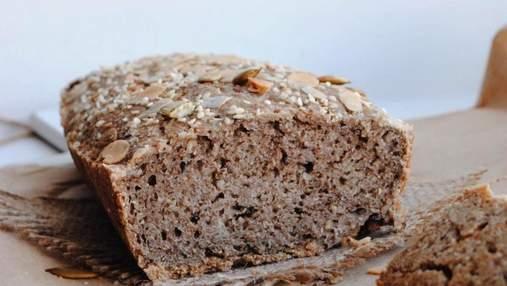 Як приготувати корисний хліб: домашній рецепт із зеленою гречкою