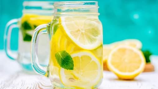 Як на організм впливає ранкова вода з лимоном: 5 корисних властивостей